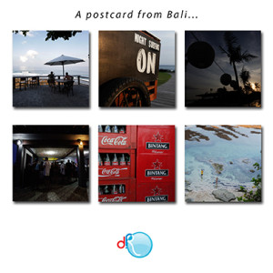 A postcard from Bali...