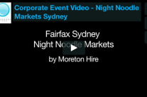 Corporate Event Video – Night Noodle Markets