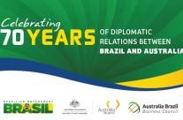 Celebrating 70 Years of diplomatic relations between Australia and Brazil
