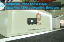 Corporate Trade Show Video Brisbane – StatePlus ASFA Conference