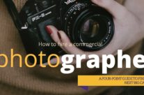 How to hire a commercial photographer